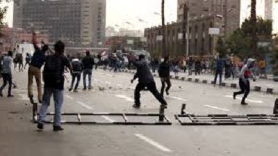15 KILLED ON EGYPT REVOLUTION ANNIVERSARY