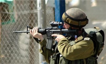 ISRAELI FORCES OPEN FIRE AT FARMERS IN CENTRAL GAZA