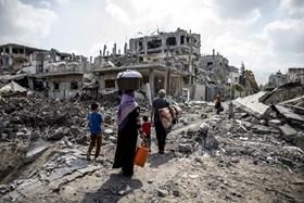 UN'S SERRY MEETS EGYPTIAN FM OVER GAZA RECONSTRUCTION