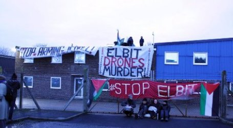 ACTIVISTS IN UK OCCUPY SECOND ISRAELI OWNED ARMS FACTORY