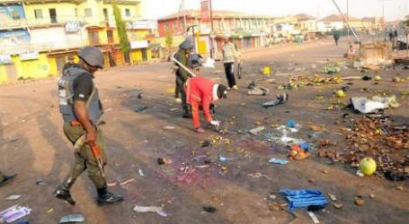 BOMB BLAST TARGETS POLITICAL MEETING IN NE NIGERIA, KILLING 8