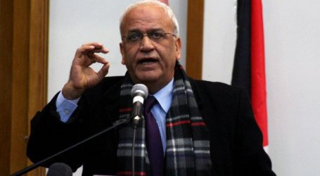 EREKAT : PLO TO REVIEW RELATIONS WITH ISRAEL BY END OF MONTH