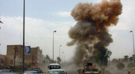 TWO BOMBS EXPLODE AT RESIDENCE OF IRAN AMBASSADOR IN LIBYA