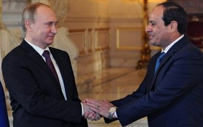CAIRO, MOSCOW TO BUILD FIRST NUCLEAR PLANT IN EGYPT