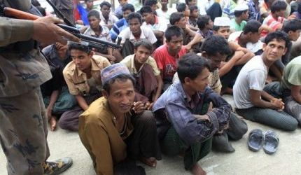 DOZEN ROHINGYA PUSHED BACK TO BURMA
