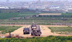 IOF NABS TWO YOUTHS NEAR GAZA FENCE, SHOWERS CIVILIAN LANDS WITH GUNFIRE