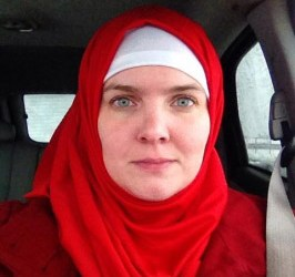 CHRISTIAN WOMAN WEARS HIJAB FOR LENT