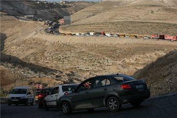 ISRAELI FORCES SHUT DOWN MAJOR RAMALLAH-AREA CHECKPOINT