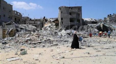 UNRWA BUILDS 1ST SCHOOL IN GAZA AFTER WAR