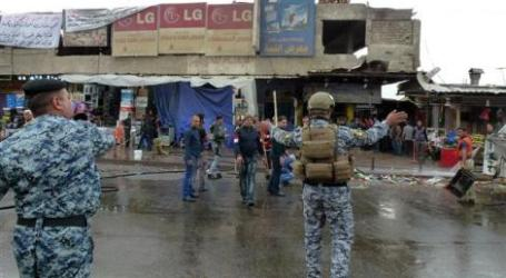 BOMBING, SHOOTING ATTACKS KILL 17 IN IRAQI CAPITAL