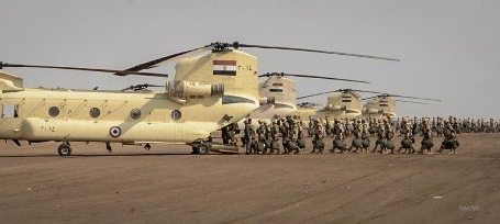 EGYPTIAN ARMY TO COMPLETE BUFFER ZONE WITH GAZA