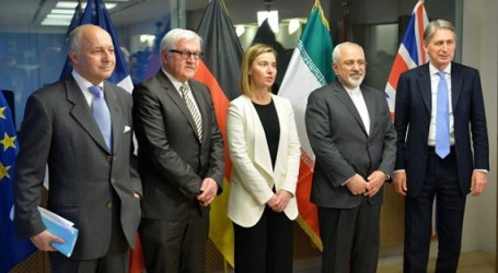 EU AND IRAN MEET IN BRUSSELS