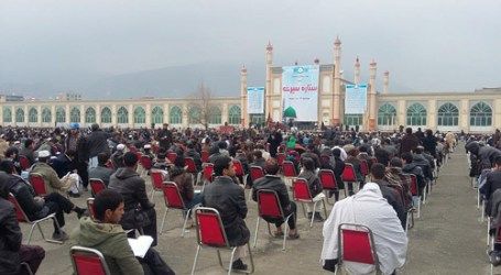 KABUL HOSTS PROPHET SEERAH COMPETITION