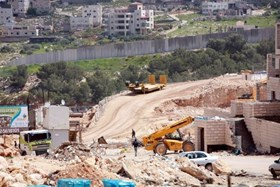 IOF BULLDOZERS 100 ACRES OF AGRICULTURAL LANDS IN NABLUS