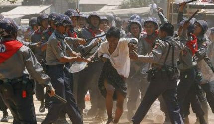 WASHINGTON CONDEMNS BURMA'S VIOLENT STUDENT CRACKDOWN