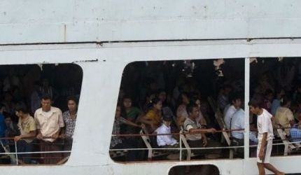 DOZENS DEAD OR MISSING AFTER BURMA FERRY CAPSIZES