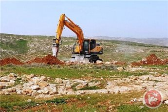 ISRAEL LEVELS PRIVATE LAND IN VILLAGE SOUTH OF BETHLEHEM