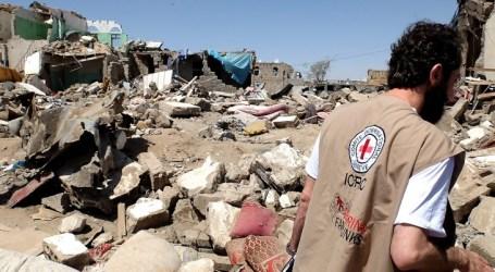 CHAOS IN YEMEN'S ADEN AS AID ARRIVES