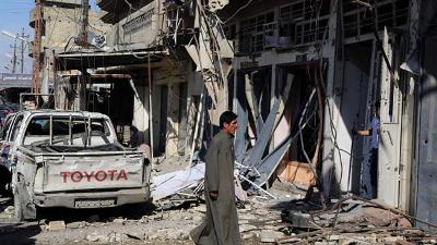 SEPARATE BOMBINGS CLAIM 11 LIVES IN IRAQI CAPITAL