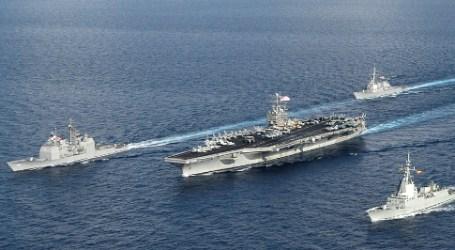 U.S. AIRCRAFT CARRIER ENTERS SEAS NEAR YEMEN
