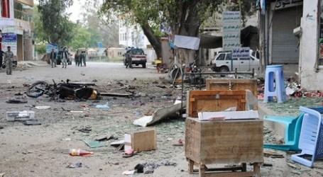 33 KILLED IN AFGHANISTAN BOMB BLAST OUTSIDE BANK