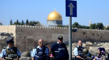 DOZENS OF ISRAELI SETTLERS STORM AL AQSA AMID HEAVY GUARD