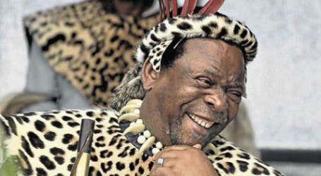 ZULU KING CALLS FOR PEACE IN S AFRICA AFTER VIOLENCE
