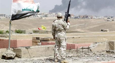 IRAQI FORCES TAKE BACK CENTRAL TIKRIT FROM ISIL