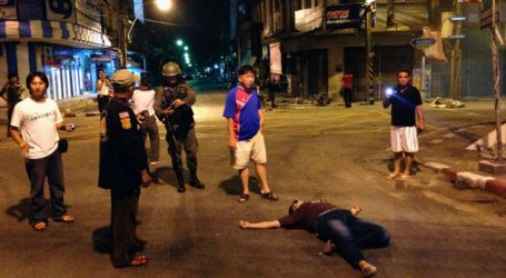 THAILAND'S MUSLIM REGION SHAKEN BY 4 BOMBS