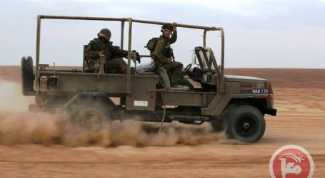 ISRAELI FORCES OPEN FIRE ON PALESTINIAN FARMERS IN SOUTHERN GAZA
