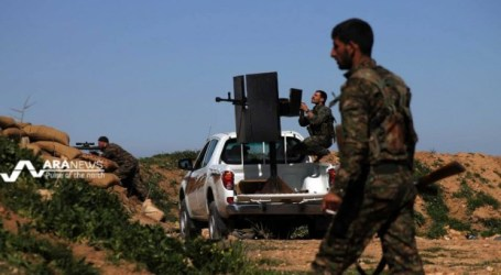 ISIS ADVANCES IN KOBANE COUNTRYSIDE AMID KURDISH RETREAT