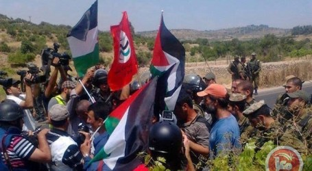 ISRAELI FORCES SUPPRESS MARCH OVER WEST BANK CHURCH SETTLEMENT PLANS