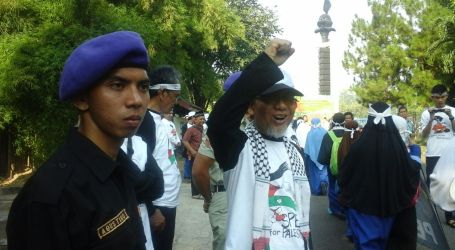 RALLY FOR PALESTINE IN INDONESIA IS A FORM OF LOVE