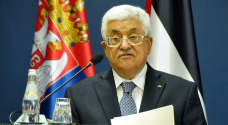 PALESTINIAN PRESIDENT SETS CONDITIONS ON PEACE TALKS