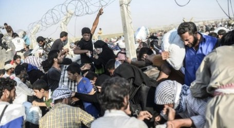 U.N. SAYS 23,000 REFUGEES FLED TO TURKEY FROM SYRIA THIS MONTH