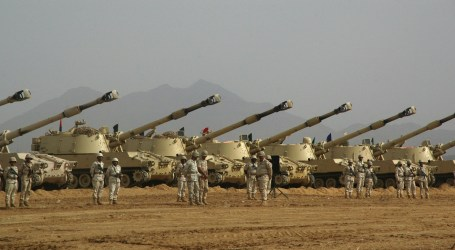 SAUDI BOOSTS MILITARY SUPPORT NEAR YEMEN BORDER