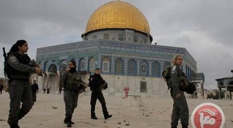 ISRAEL DETAINS 9 PALESTINIANS AS RIGHT-WINGERS CALL TO RAID AL-AQSA