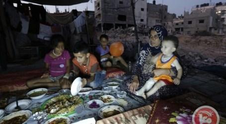 PALESTINIANS MARK ONE YEAR SINCE GAZA WAR