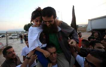 ISRAEL RELEASES PALESTINIAN PRISONER KHADER ADNAN