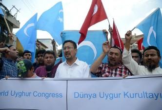 UIGHUR GROUP BASED IN TURKEY CALLS FOR CALM