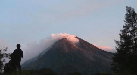 RAUNG MOUNT ON ALERT STATUS, NATIONAL DISASTER AGENCY STAND BY
