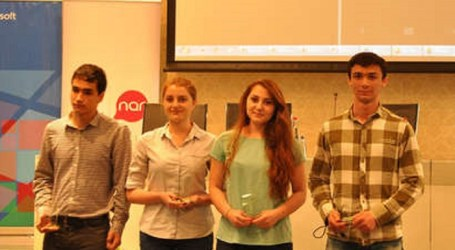 "AZERBAIJAN ""NOOBS TEAM"" RANKS 2ND THE NATIONAL FINAL OF MICROSOFT IMAGINE CUP"