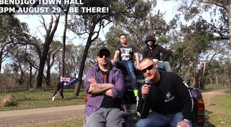 AUSSIE FAR-RIGHT GROUP TARGETS MOSQUES IN HATE VIDEO