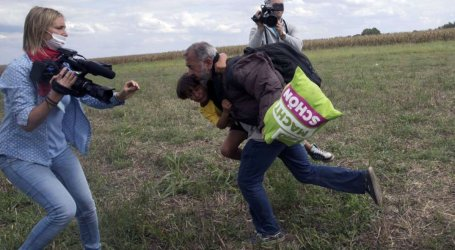 HUNGARY TO PROSECUTE CAMERAWOMAN WHO ATTACKED REFUGEES