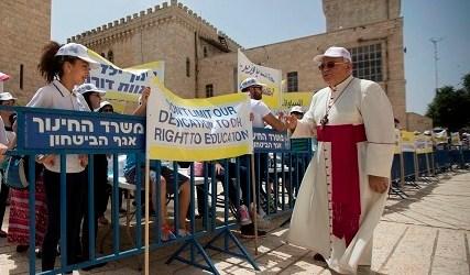 STRIKE KEEPS CHRISTIAN SCHOOLS CLOSED IN ISRAEL