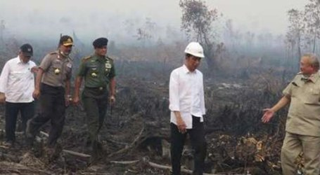 INDONESIAN PRESIDENT REVIEWS SMOKE DISASTER UNTIL GROUND ZERO