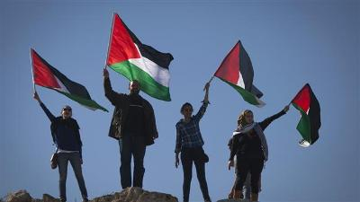 UN GENERAL ASSEMBLY TO VOTE ON PALESTINE FLAG RESOLUTION