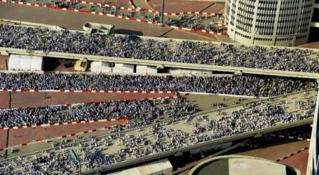 TAWAFA OFFICIALS PILGRIMS TO ABIDE INSTRUCTIONS FOR GATHERING JAMARAT COMPLEX