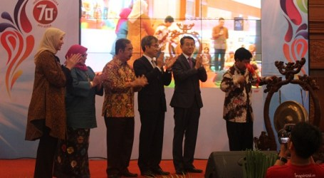 INDONESIA INTERNATIONAL BOOK FAIR OFFICIALLY OPENED