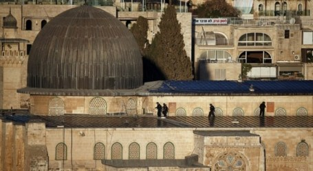 ISRAELI FORCES STORM AL-AQSA MOSQUE AFTER DEADLY STABBING